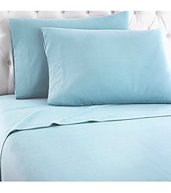 Shavel Home Products Micro Flannel® European Cotton Solid Sheet Set