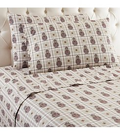 Shavel Home Products Micro Flannel® Grizzly B. Cool Sheet Set