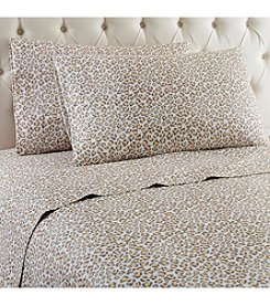 Shavel Home Products Micro Flannel® Leopard Sheet Set