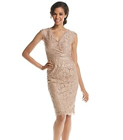 Adrianna Papell® Lace Overlay Cocktail Dress