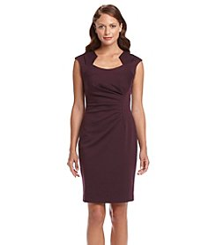 Calvin Klein Horse Shoe Ponte Dress