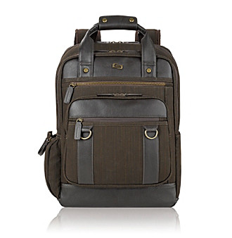 "SOLO® Olive 15.6"" Bradford Backpack"