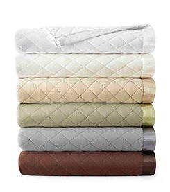 Shavel Home Products Micro Flannel® Quilted Blanket