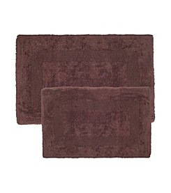 Lavish Home Cotton 2-pc. Reversible Rug Set