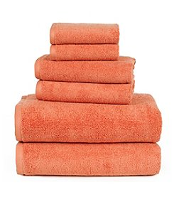 Lavish Home 100% Egyptian Cotton Zero Twist 6-pc. Towel Set
