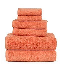 Lavish Home 100% Egyptian Cotton Zero Twist 6-pc. Towel Set