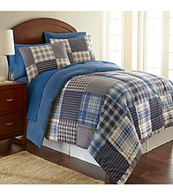 Shavel Home Products Micro Flannel® Smokey Mt. Plaid Comforter Set