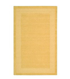 Nourison Westport Yellow Area Rug