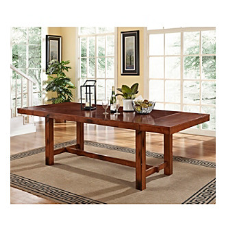 W. Designs Dark Oak Dining Table