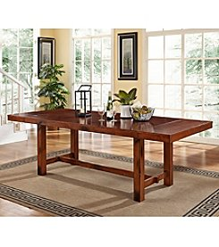 W. Designs Dark Oak Dining Table