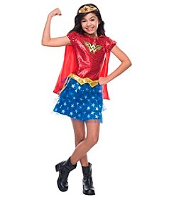 DC Comics® Wonder Woman Sequin Child Costume