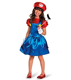 Nintendo Super Mario Bros® Mario with Skirt Child Dress Costume