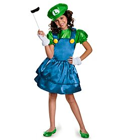 Nintendo Super Mario Bros® Luigi with Skirt Child Dress Costume