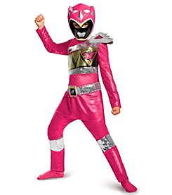 Power Rangers® Dino Charge: Pink Ranger Sequin Deluxe Child Costume