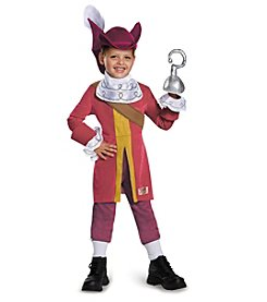 Disney® Captain Jake and the Neverland Pirates: Captain Hook Deluxe Child Costume