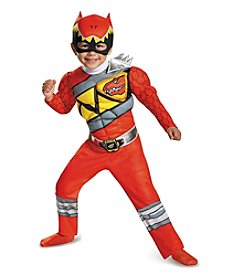 Power Rangers® Dino Charge: Red Ranger Muscle Child Costume