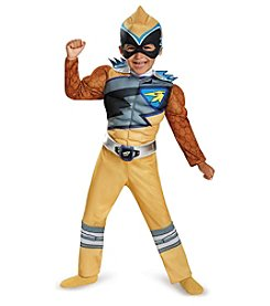 Power Rangers® Dino Charge: Gold Ranger Muscle Child Costume