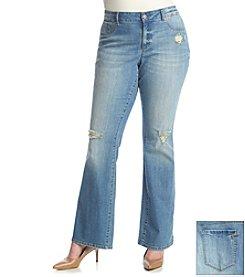 Jessica Simpson Plus Size Bootcut Jeans