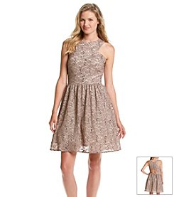 Morgan & Co.® Sequin Lace Dress