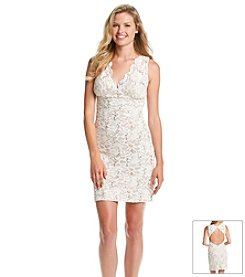 Morgan & Co.® Sequin Stretch Dress