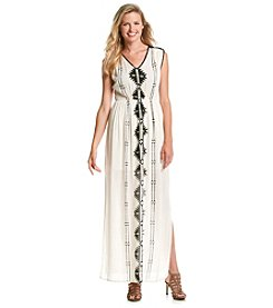 Taylor & Sage™ Embroidered Maxi Dress