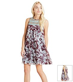 BCBGeneration™ Lace And Floral Dress