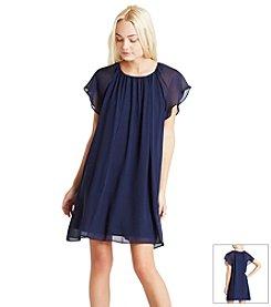 BCBGeneration™ Chiffon Pleated Dress