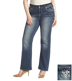 Wallflower® Plus Size Bling Bootcut Jeans