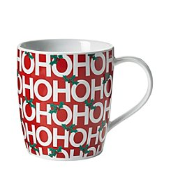 LivingQuarters Ho Ho Ho Mug