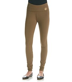 MICHAEL Michael Kors® Fold-Over Waistband Leggings
