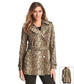 MICHAEL Michael Kors® Short Printed Trench Coat
