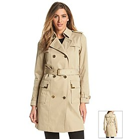 MICHAEL Michael Kors® Double-Breasted Trench Coat