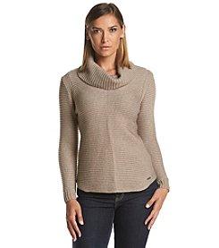 Calvin Klein Ottoman Cowl Neck Sweater