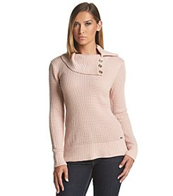 Calvin Klein Button Collar Sweater