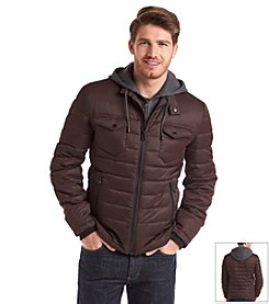 Buffalo by David Bitton Men's Hooded Puffer Jacket