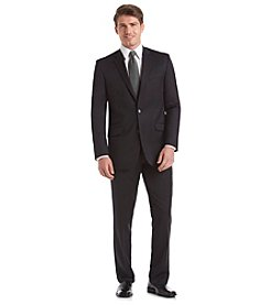 Kenneth Cole New York Men's Slim Fit Black Suit Separate