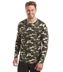 Weatherproof® Men's Climate Smart Long Sleeve Camo Thermal Shirt