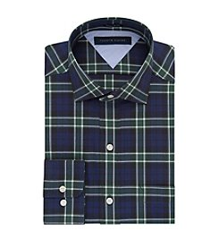 Tommy Hilfiger® Men's Regular Fit Plaid Dress Shirt