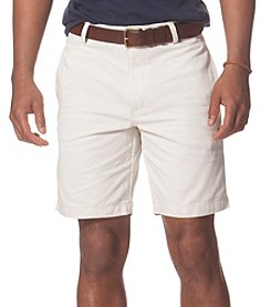 Chaps® Men's Flat-Front Twill Shorts