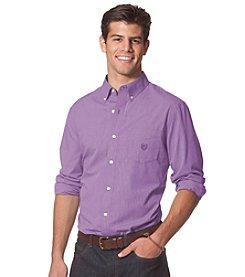 Chaps® Men's Long Sleeve Poplin Shirt