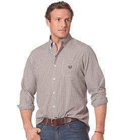 Chaps® Men's Long Sleeve Gingham Poplin Shirt