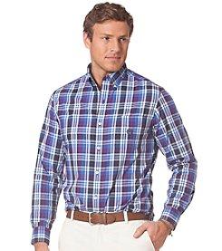 Chaps® Men's Long Sleeve Plaid Poplin Shirt
