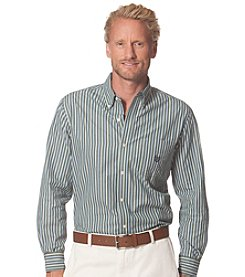 Chaps® Men's Long Sleeve Striped Poplin Shirt
