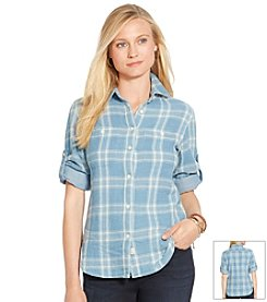 Lauren Jeans Co.® Plaid Button-Down Shirt