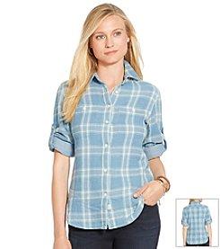 Lauren Jeans Co.® Plaid Button-Down Shirt