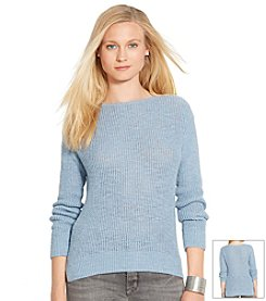 Lauren Jeans Co.® Seed-Stitched Sweater