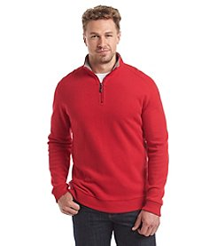 Paradise Collection® Men's Long Sleeve Solid Flatback 1/4 Zip Pullover