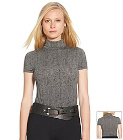 Lauren Ralph Lauren® Short Sleeve Turtleneck