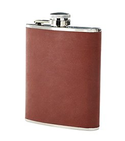 Reward Lodge Men's Leather Wrapped Flask