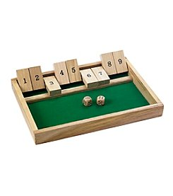 Reward Lodge Men's Shut-The-Box Game